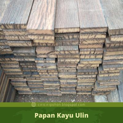 Papan Kayu Ulin