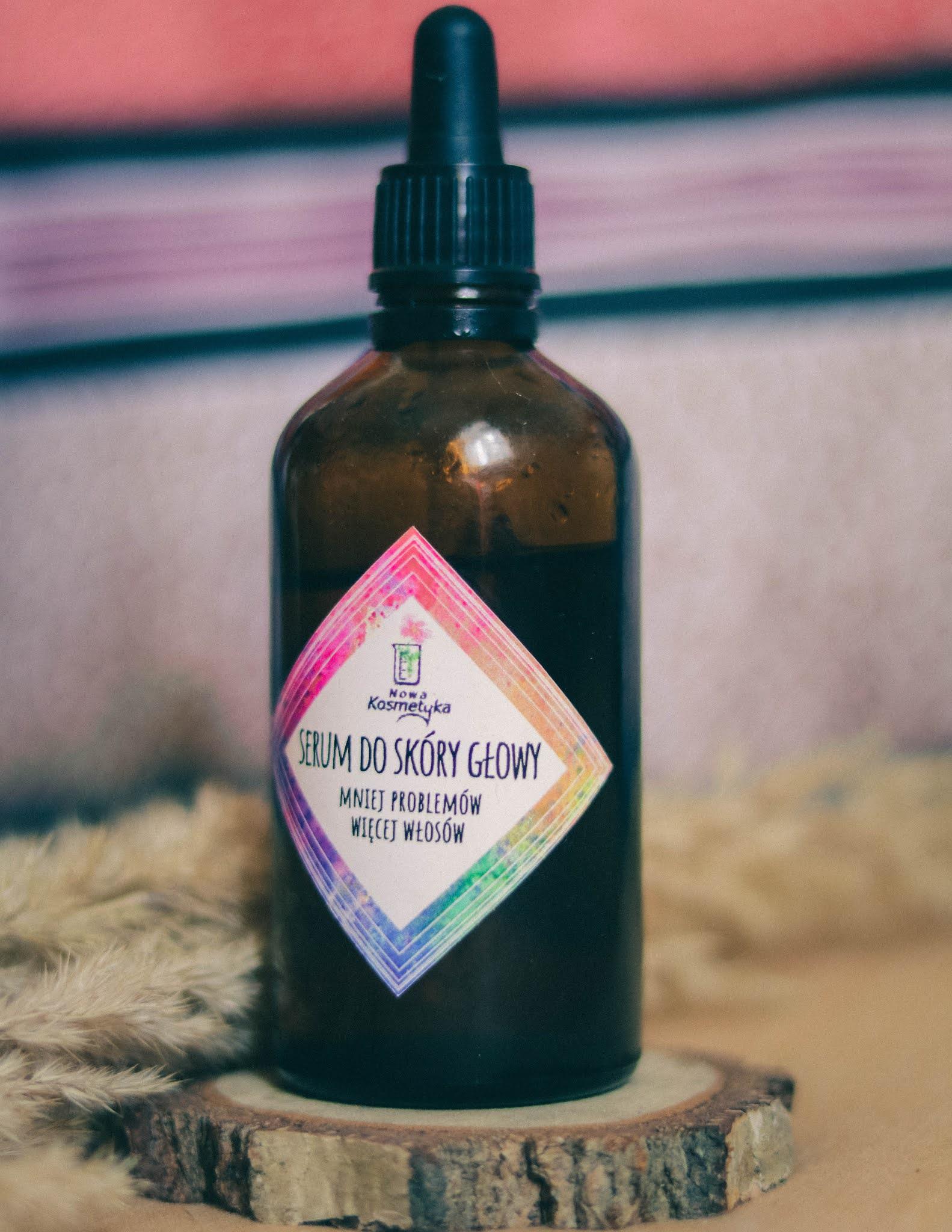 serum do skóry głowy nowa kosmetyka