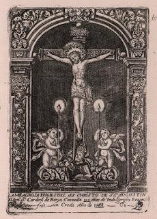 Dos Angeles ceriferarios acompañará al santísimo Cristo de San Agustín de Granada