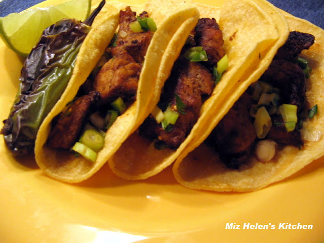 Pork Tacos Dallas Gas Station Style at Miz Helen's Country Cottage