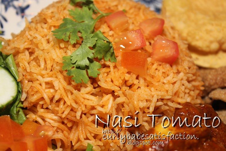 Curlybabe's Satisfaction: Nasi Tomato & Kurma Ayam Merah