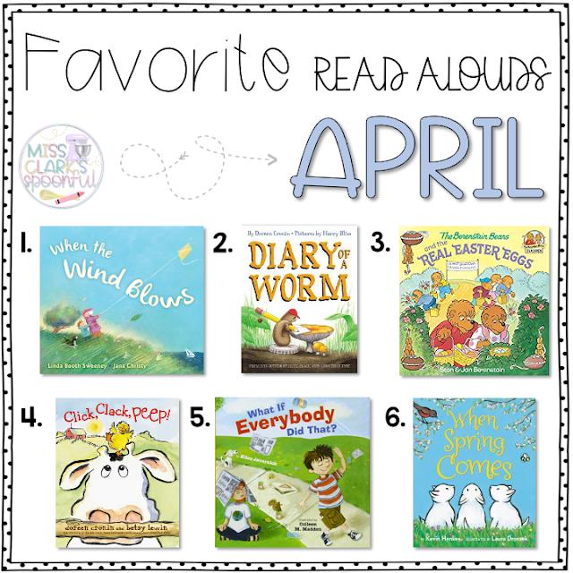 Favorite April Read Alouds
