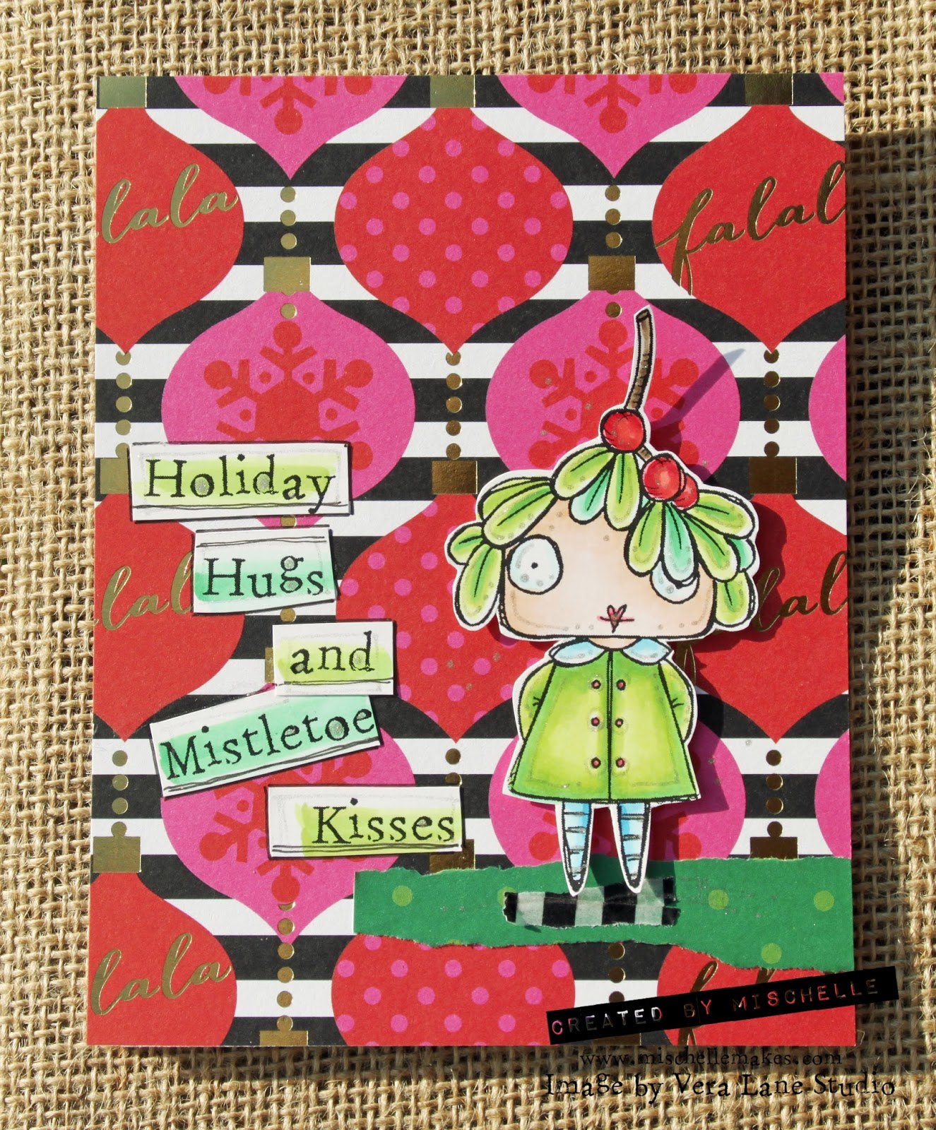 326 Holly Mistletoes Vera Lane Studio Mischelle Smith