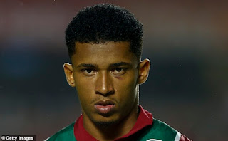 Barcelona and Real Madrid 'pursue Fluminense's Marcos Paulo'