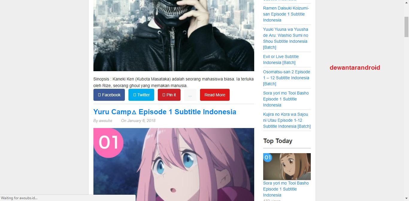 480p720p Dan 720p 10 Bit Untuk Formatnya Sendiri Ada Mkv Mp4Untuk Koleksinya Tidak Terlalu Lengkap Namun Lumayanlah Anda Mendownload Anime
