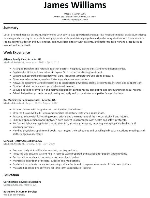 Modern Resume Example - Resume Templates
