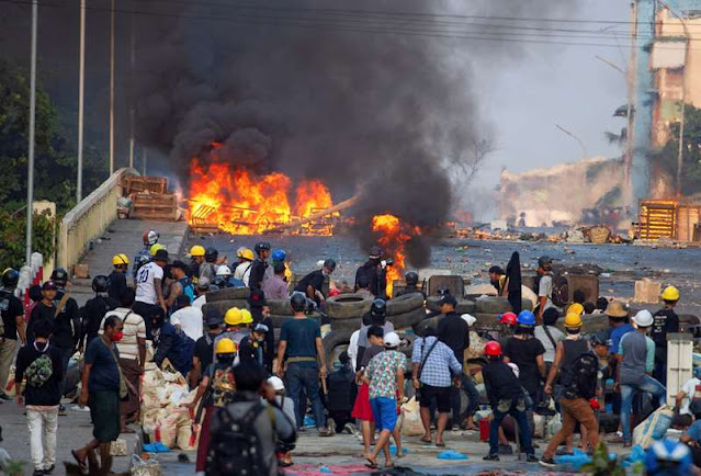 More than 300 people killed since the coup in Myanmar