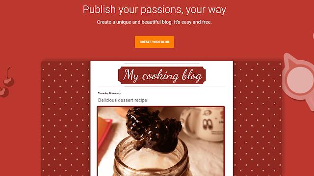 انشاء مدونة بلوجر جديدة و كتابة الوصف