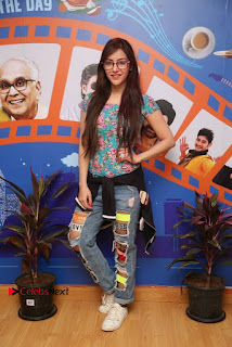 Telugu Actress Angela Stills in Ripped Jeans Angela Stills At Radio City For Rogue Promotions  0008.jpg