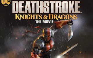 فيلم Deathstroke Knights and Dragons The Movie 2020 مترجم