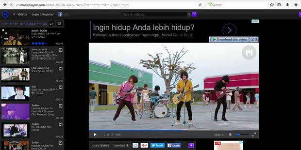 5 Website Penyedia Video Klip Musik Jepang yang Tidak Tersedia di YouTube