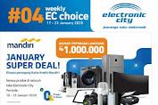 Katalog Promo Electronic City 17 - 23 Januari 2020