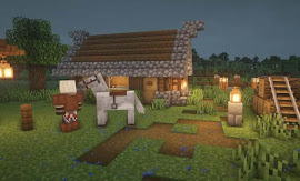 Minecraft Horse Stables | Minecraft Horse Stable Ideas -Patchescrafts