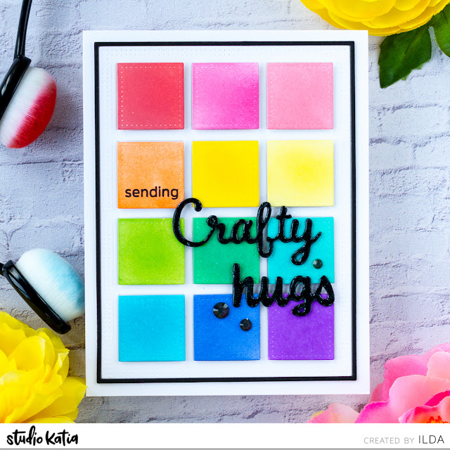 Color Swatch Crafty Friendship Card | Studio Katia