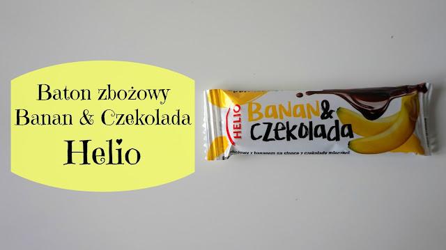 RECENZJA: Baton zbożowy Banan & Czekolada | Helio