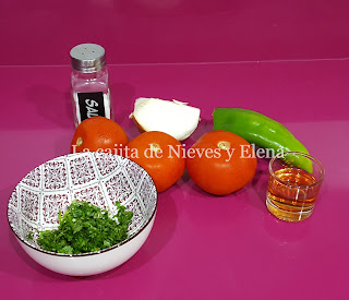 Ingredientes Pico de gallo