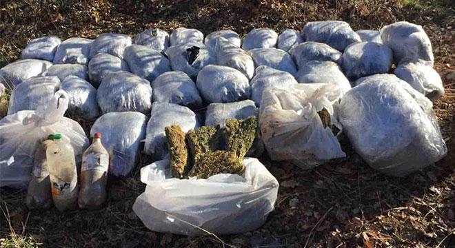Diyarbakır'da 1 milyon TL'lik uyuşturucu madde ele geçirildi