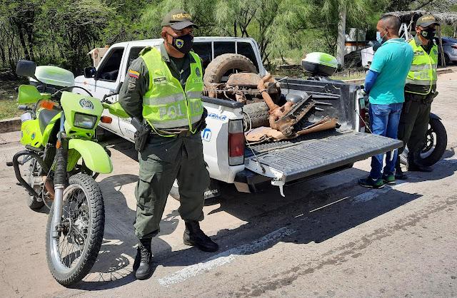 https://www.notasrosas.com/En vías de La Guajira, y en sendos operativos, son detenidos por documentación falsa