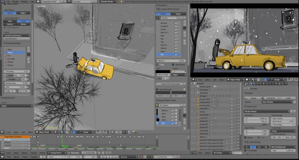 6 Best 2D & 3D Open source Animation Software | H2S Media