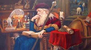 Bătrânul alchimist: Poveste cu tâlc
