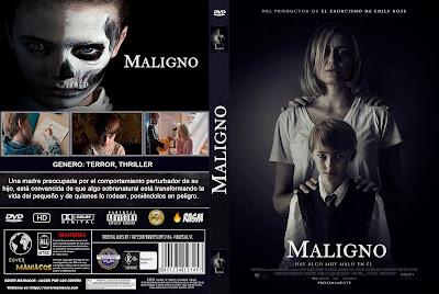 MALIGNO - THE PRODIGY - 2019 [COVER DVD]