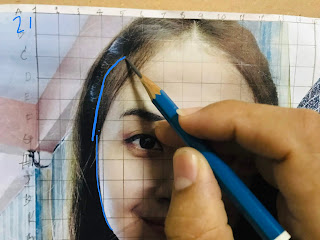 สอนวาดภาพเหมือนเบื้องต้น