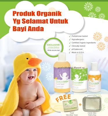 produk organik untuk baby