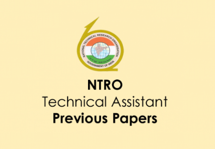 NTRO Technician 'A' Previous Year Question Paper PDF Download