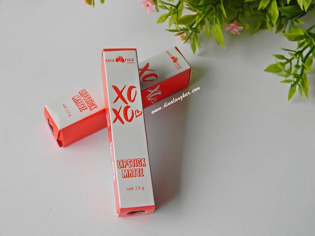 Lipstik Matte face2face Xoxo Shade 10&5 (Review)
