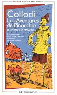 les aventures de Pinocchio en italien