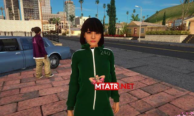 MTA SA Squid Game Player skin
