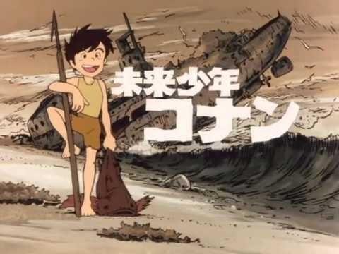 ¿Os acordáis de Conan, el niño del Futuro? Como molaba su intro
