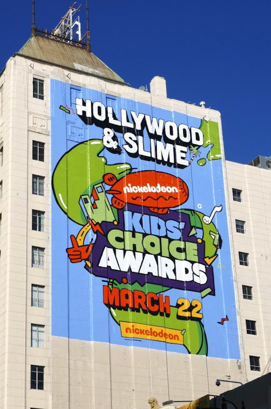 Hollywood Slime Nickelodeon Kids Choice Awards 2020 billboard