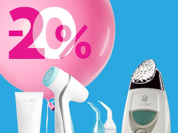 LumiSpa a Galvanic Spa s 20% slevou - pouze v pondělí 17.6.
