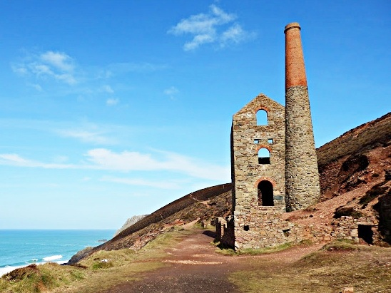 Cornish tin mine