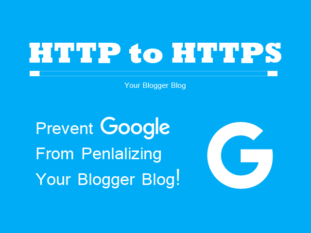 How To Redirect A Blogger Blog From HTTP To HTTPS?