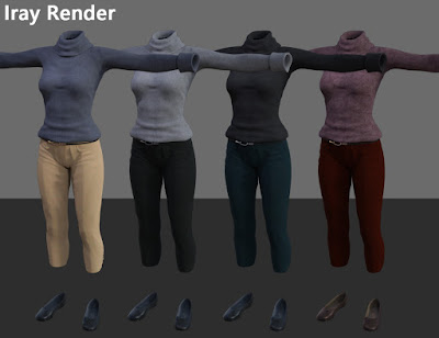 Kimi Style for Genesis 3 Female