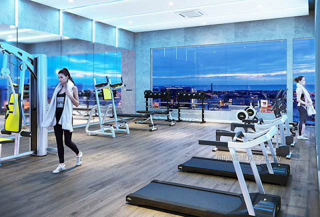 Fitness Centre Big Box Hotel Sunway