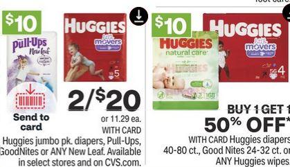 Huggies New Leaf Diapers