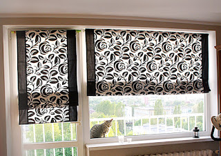 roman blinds rolety
