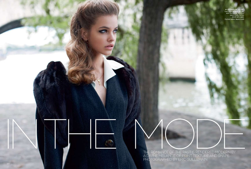 Vogue Australia September:1940's inspired photoshoot