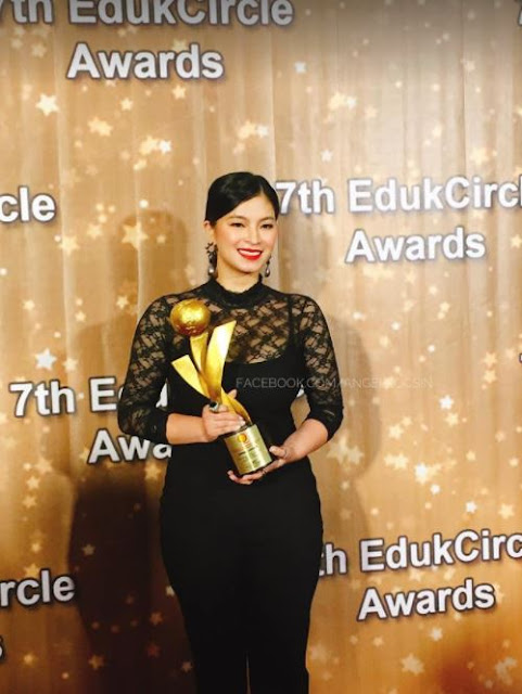 Everything You Need To Know About EdukCircle Awards And The Award That Angel Locsin Had Received!