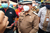 Wabup Sanggau Tinjau Lokasi Longsor di Entikong
