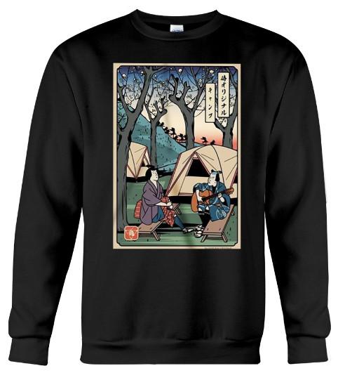 Camping Samurai Hoodie, Camping Samurai Sweatshirt, Camping Samurai T Shirt