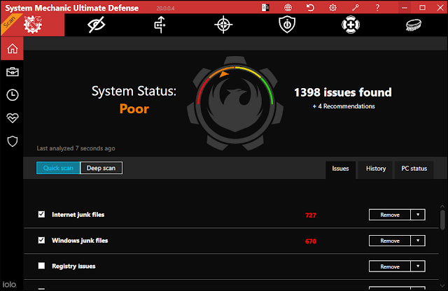 Screenshot System Mechanic Ultimate Defense 20.0.0.4 Full Version