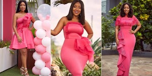 Actress Joselyn Dumas & her huge curves stun in different shades of pink