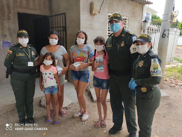 hoyennoticia.com, Policía facilita estudios virtuales a 157 niños de estratos 1 y 2