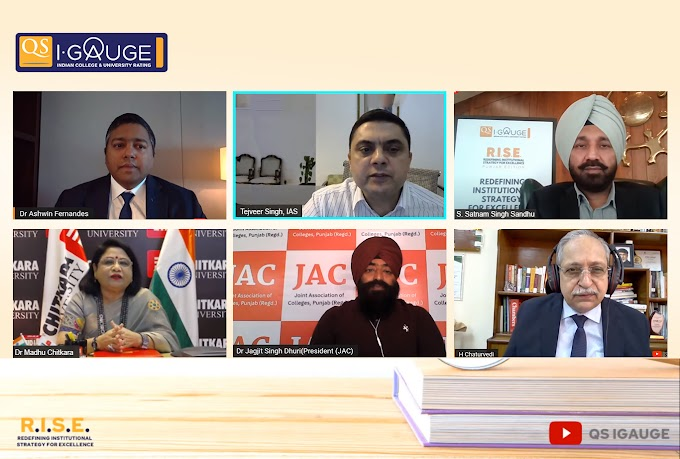 QS I-Gauge hosts first of its kind Punjab Edition of RISE Conference-2021
