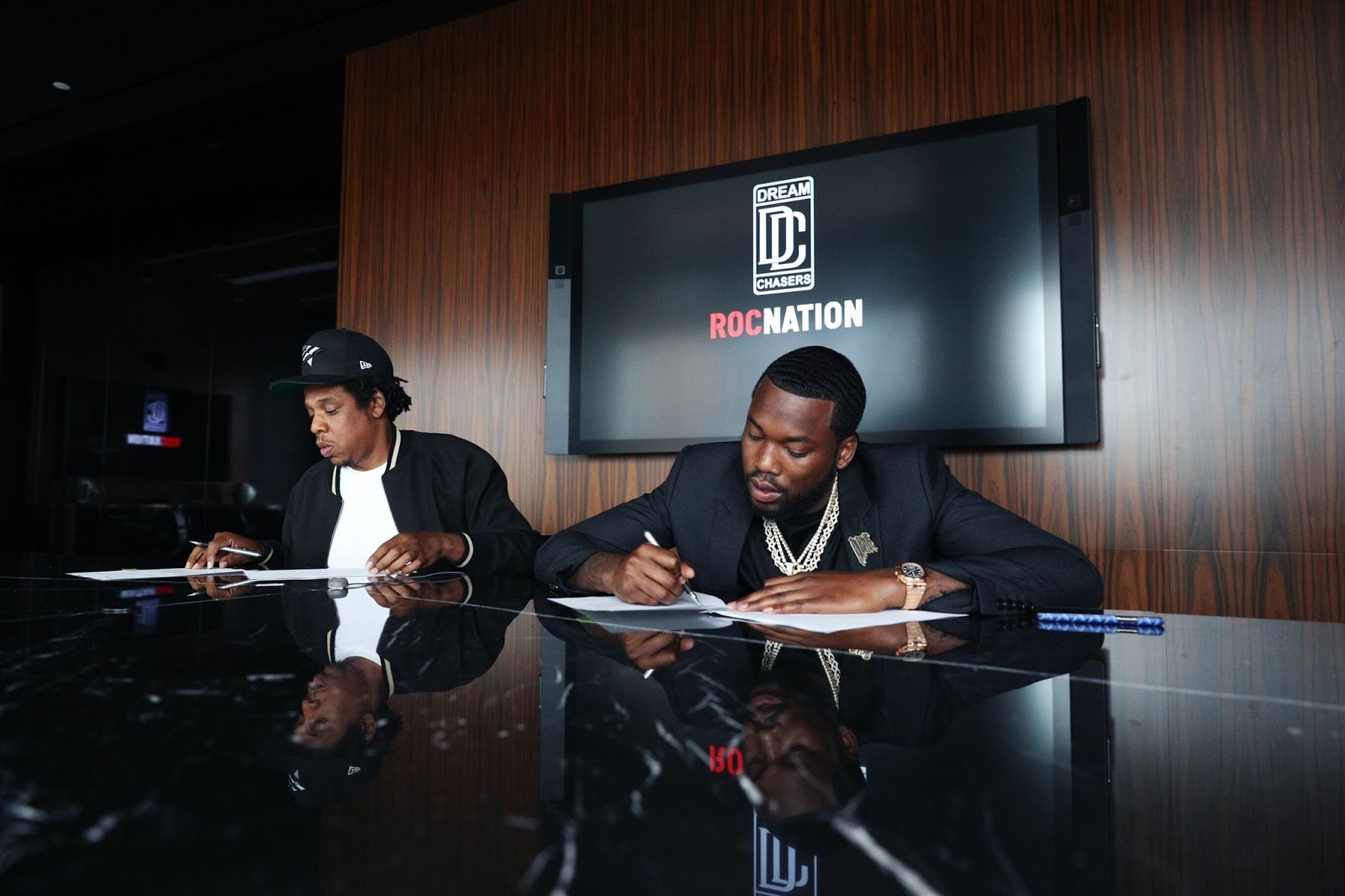 Meek Mill Teams Up With Roc Nation To Launch Dream Chasers Label