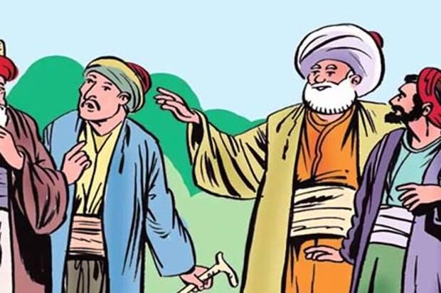Humor Sufi: Nasruddin Hoja dan Tiga Orang Bijaksana